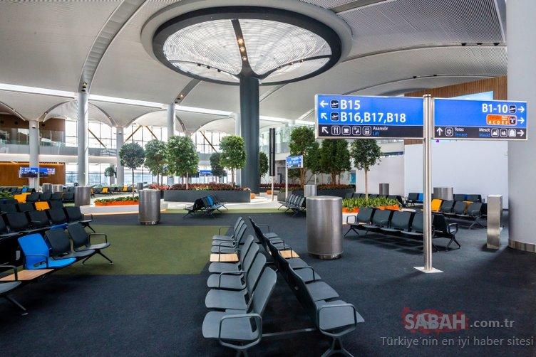 İstanbul Yeni Havalimanı'na uçaklar indi! İşte İstanbul Yeni Havalimanı'nın içi ve dışından son görüntüler