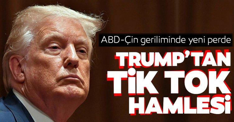 ABD Başkanı Trump'tan TikTok hamlesi