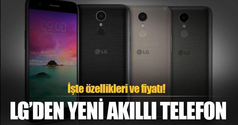 LG yeni akıllı telefonunu açıkladı