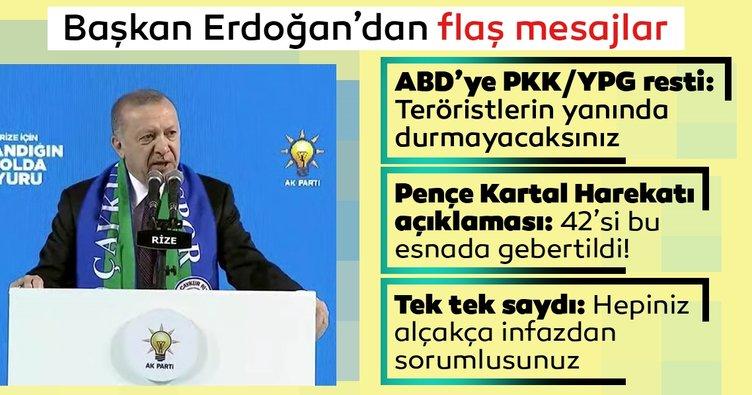 SON DAKİKA: Başkan Erdoğan'dan çok sert mesajlar: Hepiniz bu alçakça infazdan sorumlusunuz...