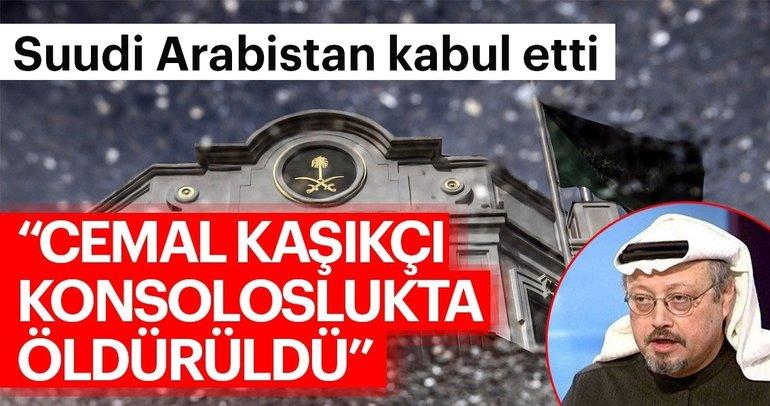 Son dakika haberi: Suudi Arabistan kabul etti: Cemal Kaşıkçı konsoloslukta öldü!