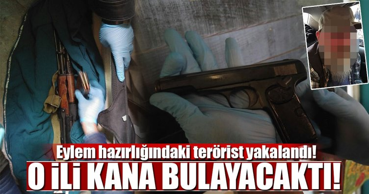 Eylem hazırlığındaki terörist Kadıköy'de yakalandı!