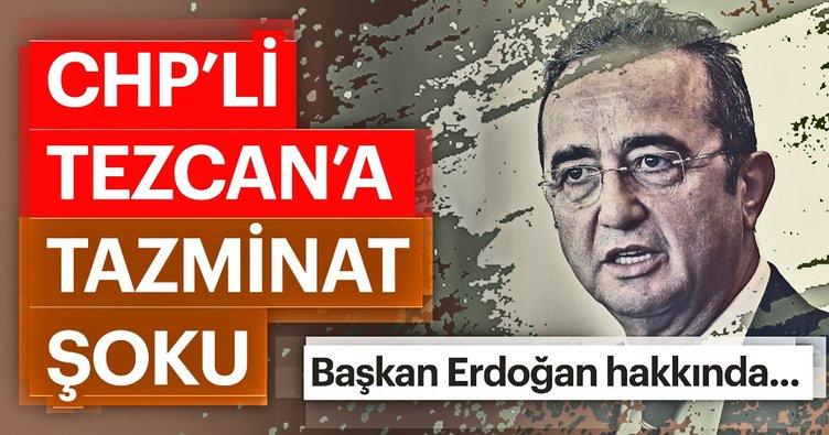 Son dakika: CHP'li Tezcan'ın, Başkan Erdoğan'a yönelik kullandığı skandal ifadeler için karar