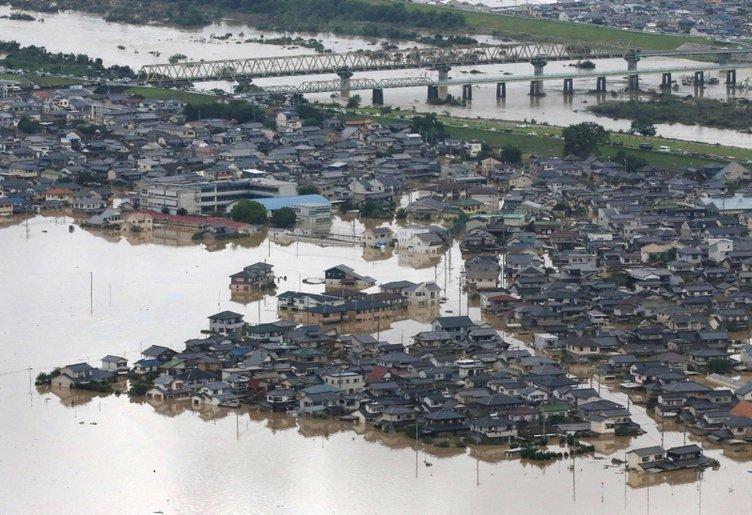 Japonya'da sellerde ölü sayısı 60'ı geçti