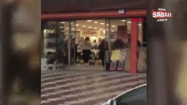 Koronavirüse rağmen mağazada halay çektiler | Video