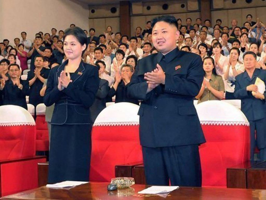 Семья ким чен ына фото