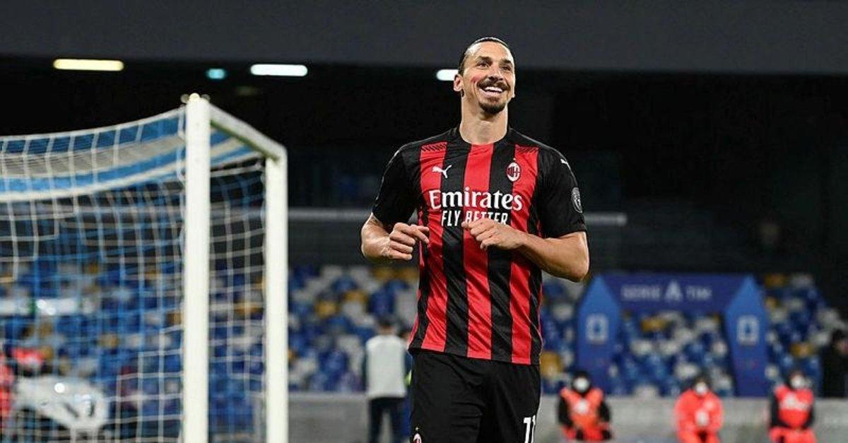 Zlatan Ibrahimovic Milan'ı sırtladı! Napoli 1-3 Milan