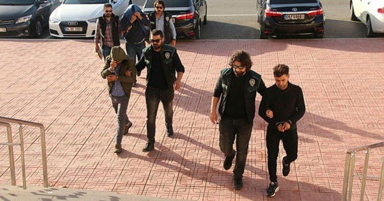 Muğla'da torbacılar tutuklandı
