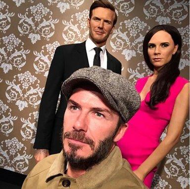 David Beckham eşine saç istedi