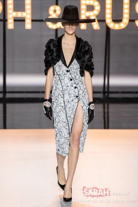 Paris'te devam eden Haute Couture İlkbahar/Yaz 2019 şovlarında şapka şıklığı!