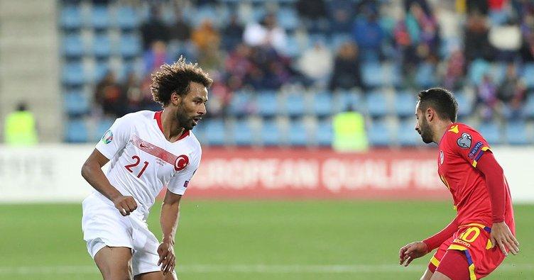 Nazım Sangare, milli takımla ilk resmi maçına çıktı