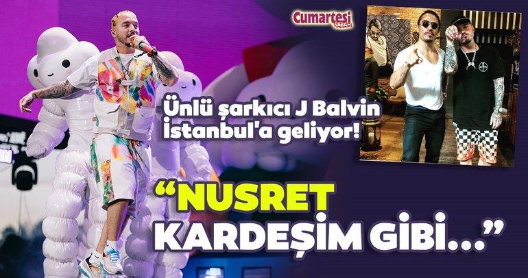Ünlü şarkıcı J Balvin, 26 Temmuz'da İstanbul'a geliyor!