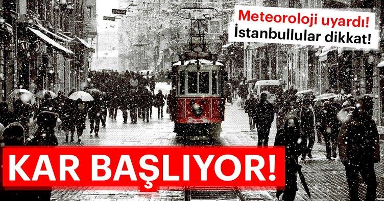 Meteoroloji ve AKOM'dan son dakika hava durumu ve kar yağışı uyarısı! İstanbul'a kar ne zaman yağacak?