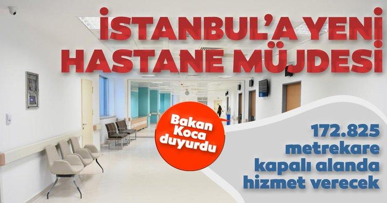"""Bakan Koca: """"İstanbul yakında yeni bir hastaneye sahip olacak"""""""
