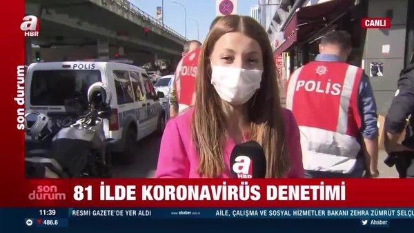 İstanbul'da koronavirüs denetimleri gerçekleştiriliyor! | Video