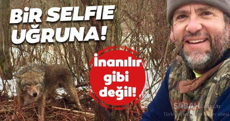 Selfie uğruna ölüme meydan okudu! Görenleri şaşkına çeviren fotoğraf!
