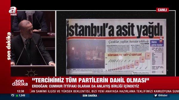 SON DAKİKA: Cumhurbaşkanı Erdoğan CHP'li belediyelerin o skandal görüntülerini paylaştı   Video