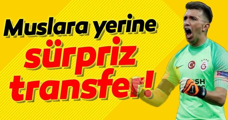 Galatasaray'a Muslera sonrası sürpriz transfer!