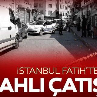 Balat'ta silahlı kavga: 3 yaralı