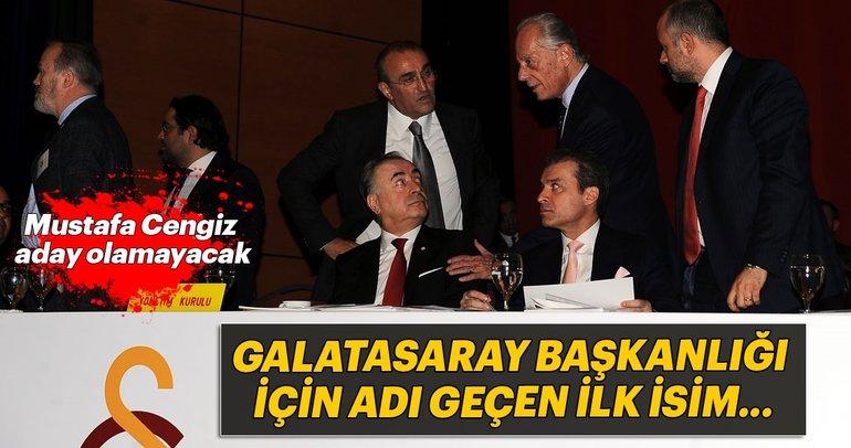 Galatasaray'ın başkan adayı kim olacak? O ismi açıkladı