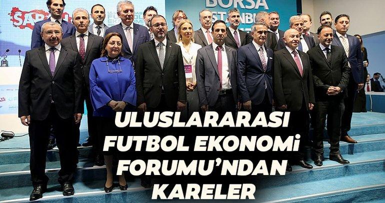 SABAH Gazetesi tarafından düzenlenen Uluslararası Futbol Ekonomi Forumu'ndan kareler