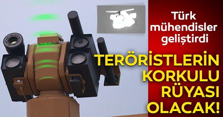 Türk mühendisler geliştirdi! Teröristlerin korkulu rüyası olacak