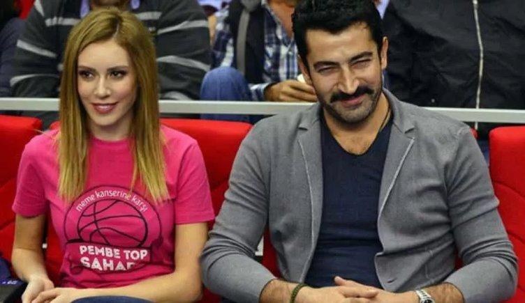 Ünlü çiftten Lalin ile ilk poz! Sinem Kobal ve Kenan İmirzalıoğlu hastane çıkışı görüntülendi