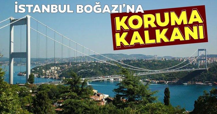 İstanbul Boğazı'na koruma kalkanı