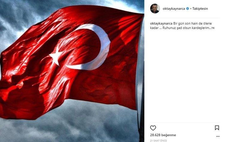 Ünlülerin Instagram paylaşımları (03.11.2017)