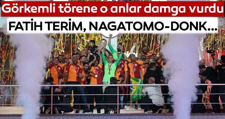 Galatasarayın şampiyonluk kutlamalarına o anlar damga vurdu