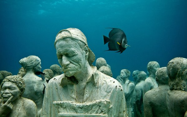 Dünyanın En İlginç Müzelerinden Biri: Meksika Sualtı Heykel Müzesi