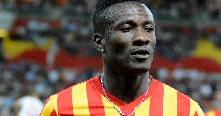 Gyan'dan Galatasaray'a gözdağı! Çekinmiyoruz