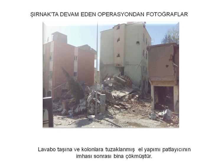 PKK'lılar her yere bomba düzeneği kurmuş!