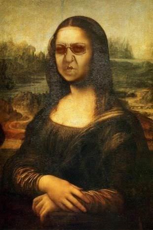 Mona Lisa çıplak!
