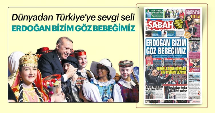 Dünyadan Türkiye'ye sevgi seli