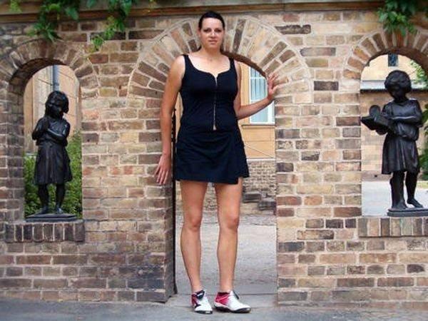 O dünyanın en uzun kızı
