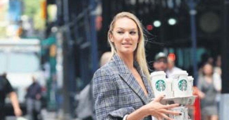 New York sokaklarında Candice rüzgarı