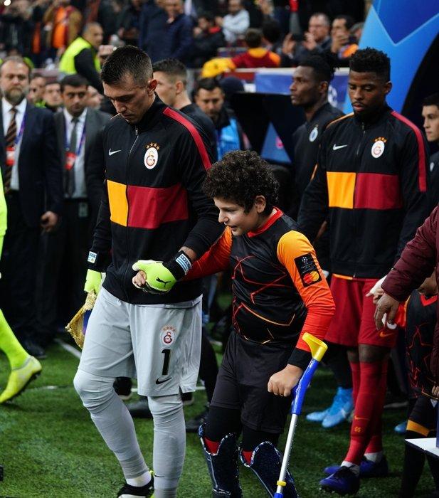 Galatasaray - Club Brugge maçından kareler