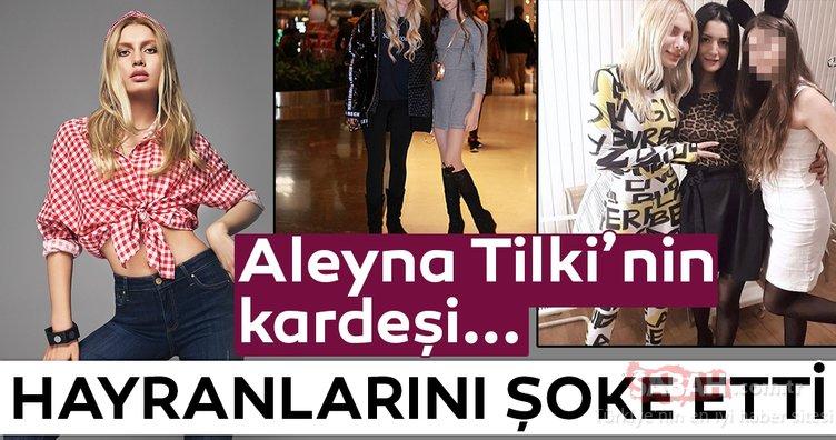 Aleyna Tilki'nin kardeşi oyuncu oluyor! İşte Aleyna Tilki'nin kardeşi...