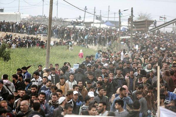 İsrail yine Filistinlilere saldırdı! Şehit sayısı 12'ye yükseldi
