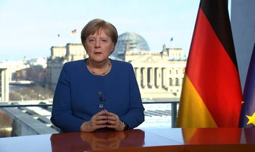 Merkel: 2. Dünya Savaşı'ndan bu yana en büyük kriz