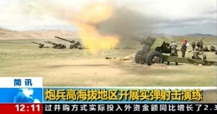 Ve Çin füzeleri ateşledi! Hepsi imha edildi