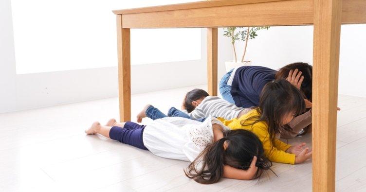 Aileler, çocuklarını deprem konusunda bilinçlendirmeli