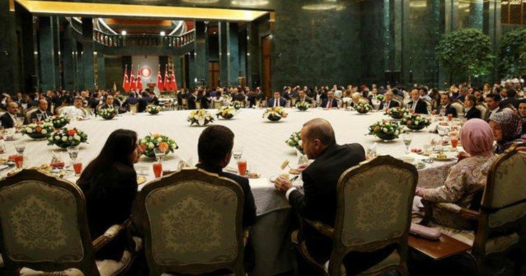 Cumhurbaşkanı Erdoğan, o isimlerle iftar masasında buluşacak