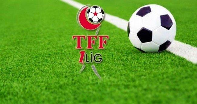 TFF 1. Lig 33. hafta programı açıklandı