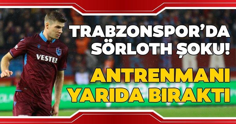 Son dakika haberi: Trabzonspor'da Alexander Sörloth şoku