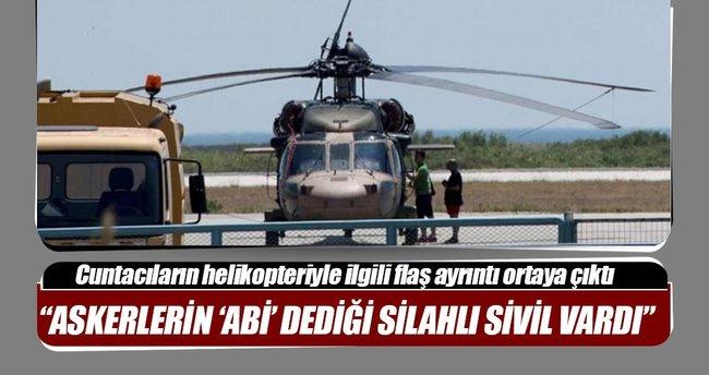 Helikopterde FETÖ abisi