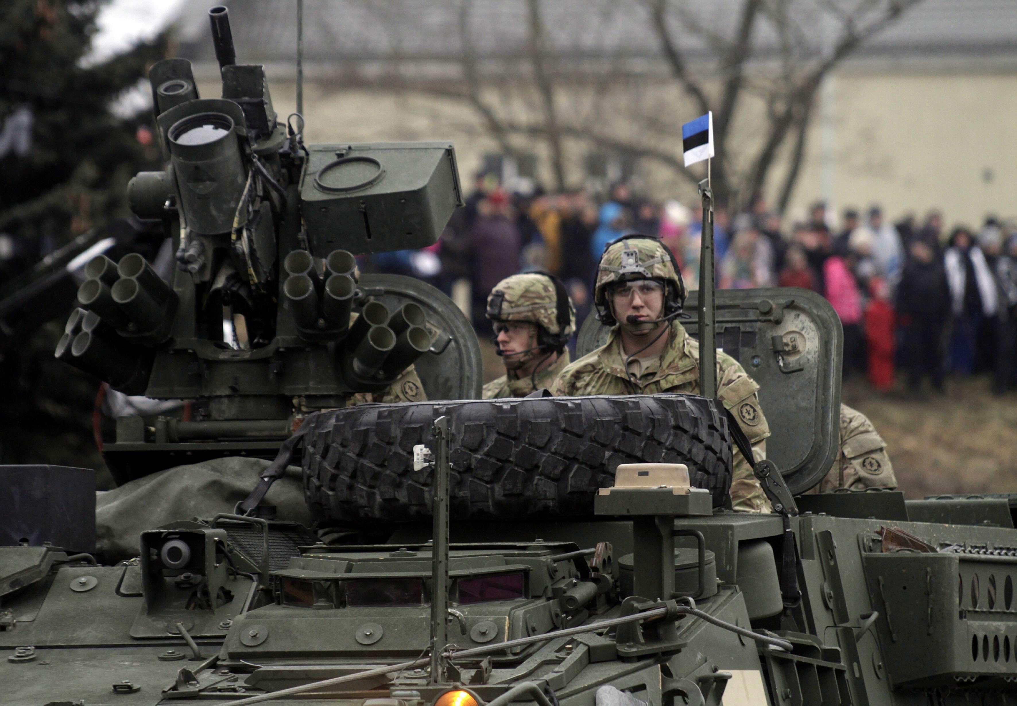Военные приготовления стран прибалтики фото