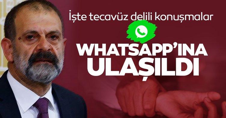 SON DAKİKA! HDP'li Tuma Çelik'in WhatsApp mesajları ortaya çıktı