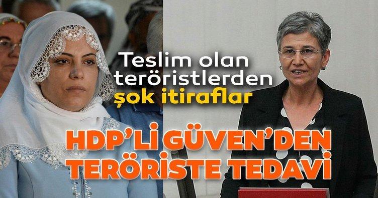 Örgüte eleman gönderdiler yaralı teröristleri tedavi ettirdiler!